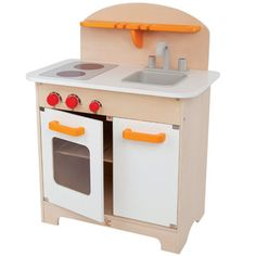 Gourmet Kitchen, White  An all-in-one kitchen inspires mini chefs to cook everywhere and everything.  Age 3 to 99 Years
