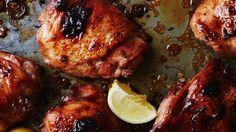 Tray baked 12 hr marinated chicken