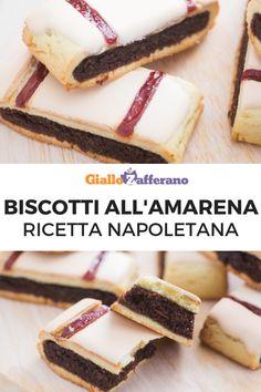 Biscotti all'amarena – Rezepte Biscotti Biscuits, Biscotti Cookies, Galletas Cookies, Italian Cookie Recipes, Italian Cookies, Bakery Recipes, Dessert Recipes, Crazy Cookies, Italian Pastries