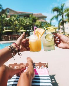 Tropical Cheers ☀️ x @emilyrummel