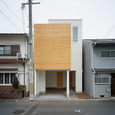 Japanese architecture. House F by Ido Kenji