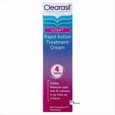 £7.39 GBP - Clearasil Ultra Rapid Action Treatment Cream 4Hour Reduce Spot Rednes - 25 Ml #ebay #Fashion