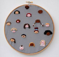 Embroider All Of The Children In Your Child's Class