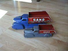 One Marx Sand & Gravel Dump truck, Car, Wyandotte Sand And Gravel, Dump Truck, Tin Toys, Classic Toys, Cars, Electronics, Ebay, Vintage, Style