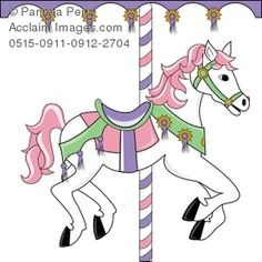 carousel coloring pages | COLORING PAGE OF CAROUSEL HORSE « Free Coloring Pages