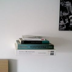 Lack shelf turned into a book