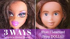 Australian Mom Turns Bratz Dolls Into - How To Remove Barbie Doll Makeup Barbie Make-up, Sonia Singh, Tree Change Dolls, The Make, How To Make, Heavy Makeup, Doll Makeup, Bratz Doll, Living Dolls