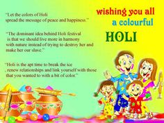 Happy colorful holi wallpaper greetings card holi greetings!