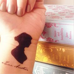 Jane Austen tattoos from my co-blogger! <3  https://www.facebook.com/photo.php?fbid=728074610544509&set=a.501507829867856.118892.212769835408325&type=3&theater