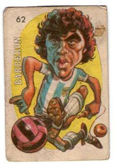 Alejandro Barberon - Argentina #62 - 1979