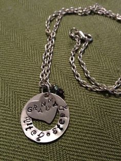 'Personalized Grandmother/Mother Pendant' is going up for auction at  3am Tue, Oct 2 with a starting bid of $9.