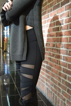 Lululemon yin-to-you-sweater and these gorgeous pants I love so much