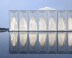 Image 1 of 23 from gallery of Da Chang Muslim Cultural Center / Architectural Design & Research Institute of Scut. Photograph by Yao Li