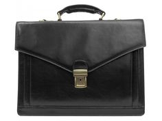 Leather Briefcase for Men and Women - The Magus in Various Colors