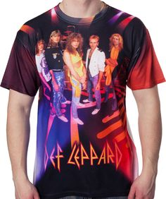 Def Leppard Group Sublimation Shirt