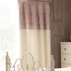 Pink Olivia Thermal Pencil Pleat Curtains | Dunelm