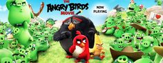 h3h3 reference in Angry Birds movie banner (Gone Angry)