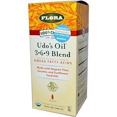 Flora, Udo's Choice, Udo's Oil 3·6·9 Blend, 32 fl oz (946 ml) - iHerb.com
