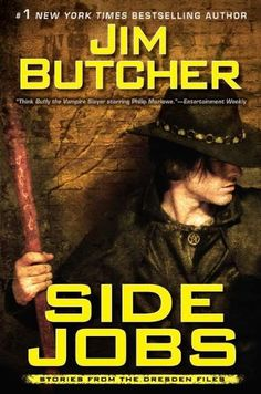 A book of short stories: Side Jobs: Stories from the Dresden Files by Jim Butcher http://www.amazon.com/dp/0451463846/ref=cm_sw_r_pi_dp_GicIvb1XXQD8H
