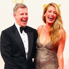 Pin for Later: Parents-to-Be Cat Deeley and Patrick Kielty Get Giggly at the Emmys