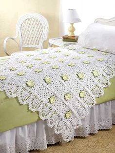 Crochet - Afghan & Throw Patterns - Granny Square & Scrap Patterns - Hospitality Garden