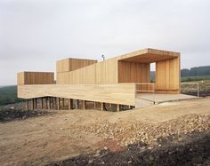 arquitectura zona cero: MADERA Y METAL / KIELDER OBSERVATORY DE CHARLES BARCLAY ARCHITECTS