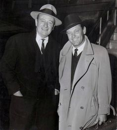 John Wayne and William Holden (1960)                                                                                                                                                                                 More