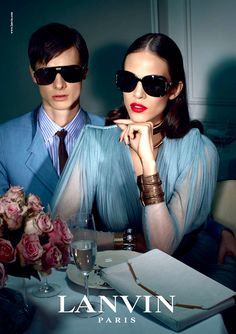 Lanvin Spring 2012 Ad Campaign by Steven Meisel