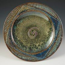 musing about mud: monday morning eye candy: Cuzick Pottery Ceramic Tableware, Ceramic Clay, Ceramic Bowls, Pottery Plates, Ceramic Pottery, Pottery Art, Pottery Ideas, Slab Pottery, Aqua