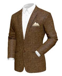 Blazers for Men Tweed Blazer, Blazer Suit, Classy Fashion, Mens Fashion, Wool Fabric, Blazers For Men, Mens Suits, Corduroy, Sport Coats