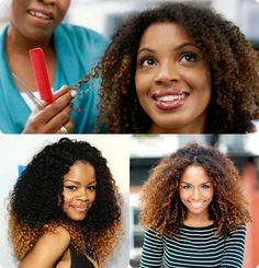 Don't like bottom left.  No ombre like this! Don't like bottom right - too orange-y and not enough dimension.