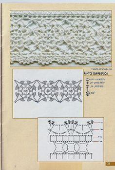 Croche Barrados № 18