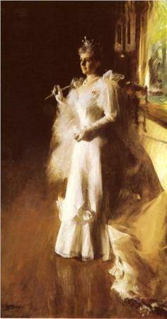 Mrs Potter Palmer - Anders Zorn