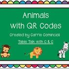 Animal QR Codes Freebie