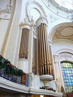 Annapolis, MD USNA Chapel organ