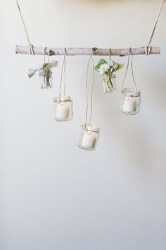 diy craft with birch branches Birch Branches, Birch Tree Decor, Tree Branch Decor, Birch Decorations, Diy Home Decor For Apartments, Bedroom Decor, Wall Decor, Diy Décoration, Diy Woodworking