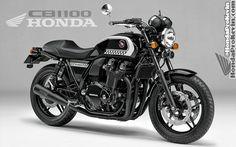 Honda CB1100 Custom Concept   2016 = Back to the USA?   Honda-Pro Kevin