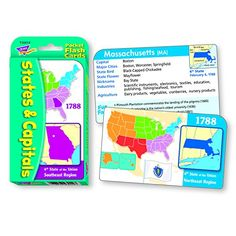 Worksheet. 7 Pack EDUPRESS STATE CAPITALS IN A FLASH by EDUPRESS 6857