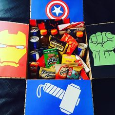 superhero care package - Google Search