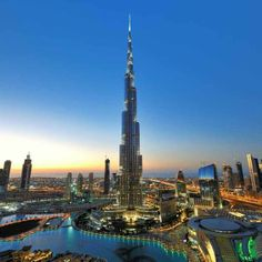 Burj Khalifa - Dubai... Dubai based fashion designer for Girls up to the age of 16 years old - www.Adorable-Ones.com