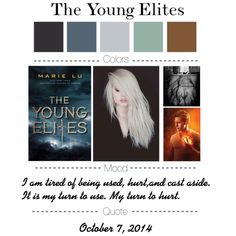 """""""The Young Elites by Marie Lu"""" by katsnook on Polyvore"""
