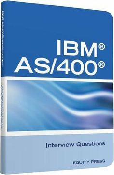 IBM®AS400® Interview Questions, Answers, and Explanations: Unofficial IBM AS/400 Certification Review by Terry Sanchez-Clark. $9.58. 225 pages