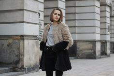 Fashion fades, style is eternal — bestfashionbloggers:   So in Carmel / Two tone...