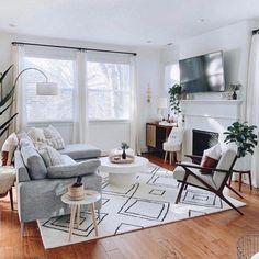 Kitnet & Studio Decoration: Designs & Photos - Home Fashion Trend Home Living Room, Living Room Designs, Living Room Furniture, Home Furniture, Living Room Decor, Rustic Furniture, Modern Furniture, Antique Furniture, Cheap Furniture