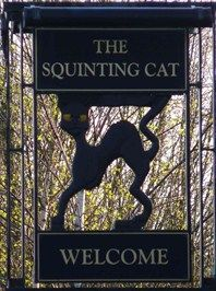 """The Sguinting Cat"": - Lund House Green, Pannal Ash, Harrogate, England"