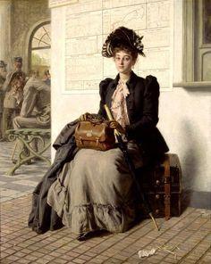 Going into the World - Evert Jan Boks 19th century