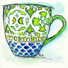 Cup from Catarina Engberg... I love this one...