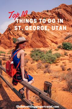 """Top 10 Things to do Around St. George, Utah I recently went on an adventure to St. George, Utah which is one of my favorite cities in Utah. There is so much to see and do so I decided to compile a list"" Usa Travel Guide, Travel Usa, Travel Tips, Travel Guides, Us Travel Destinations, Places To Travel, Cities In Utah, Las Vegas, St George Utah"