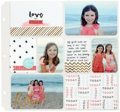 CTMH Picture This: Hello, Life! Pocket Scrapbooking