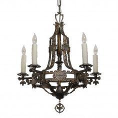 Spanish Revival / Spanish Colonial Chandelier | CHANDELIER | Pinterest |  Kronleuchter, Decken Und Spanisch